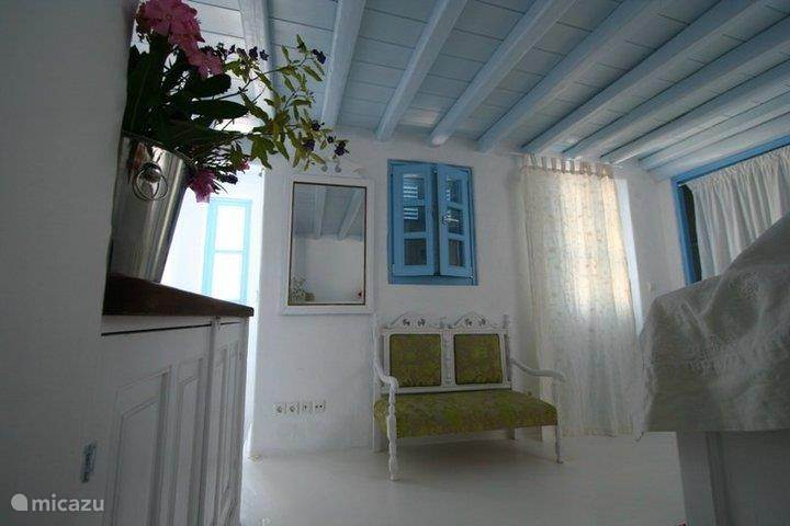 Vakantiehuis Griekenland, Rhodos, Koskinou Vakantiehuis Mandarin house, quiet, roof terrace
