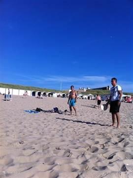 Het strand van Egmond