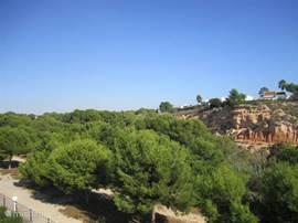 uitzicht op natuurreservaat