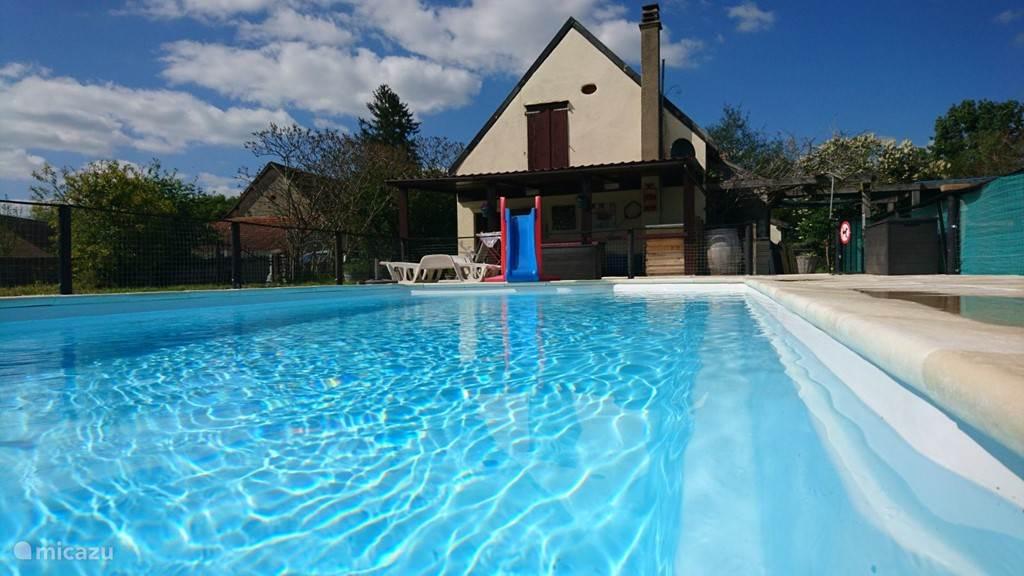 Lekker zwembad van 8 x 4 1.55 deep