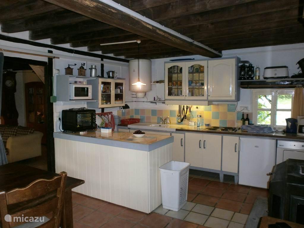 Keuken met alle gemakken