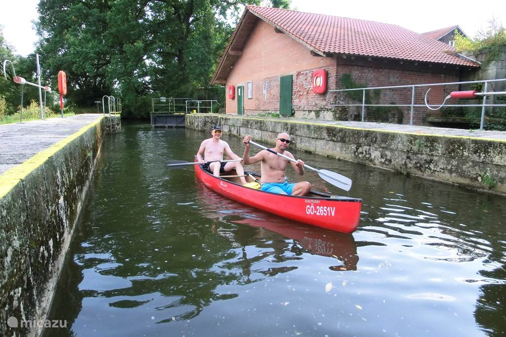 Active: Canoeing