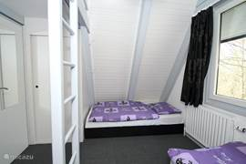 Cosy room for 4 people. Child friendly furnished.