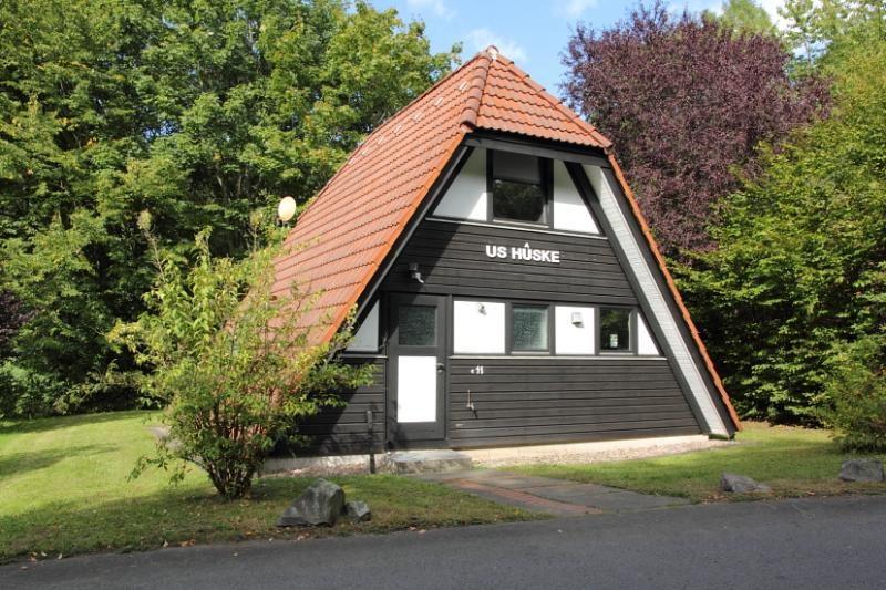 50% KORTING. Op de laatste week van augustus. Voor iedereen die wil genieten van dit overcomplete vakantiehuis in de bossen van centraal Duitsland.