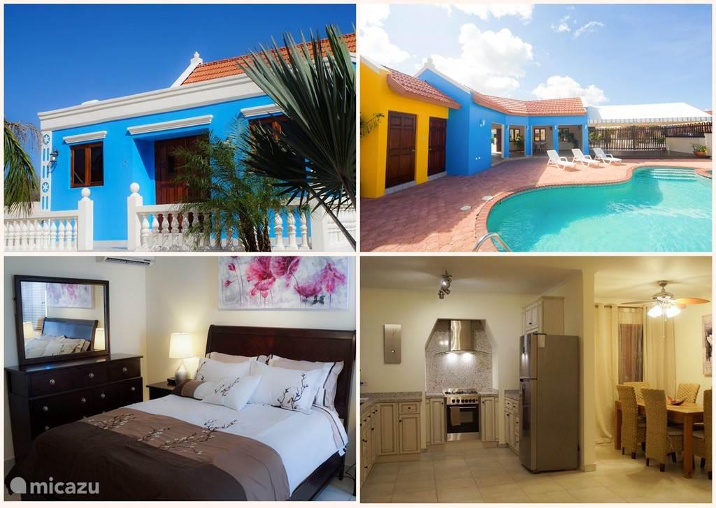 Vakantiehuis Aruba, Noord, Noord villa Ruime Cunucu Villa met zwembad