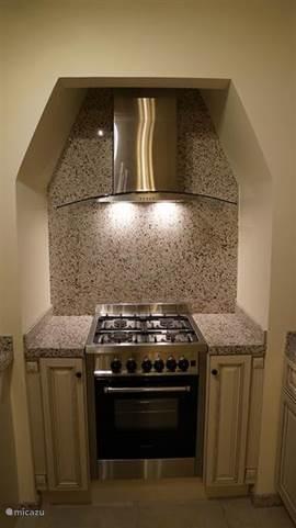 De oven en het gasfornuis