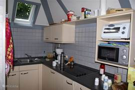 Ruime keuken en veel ruimte
