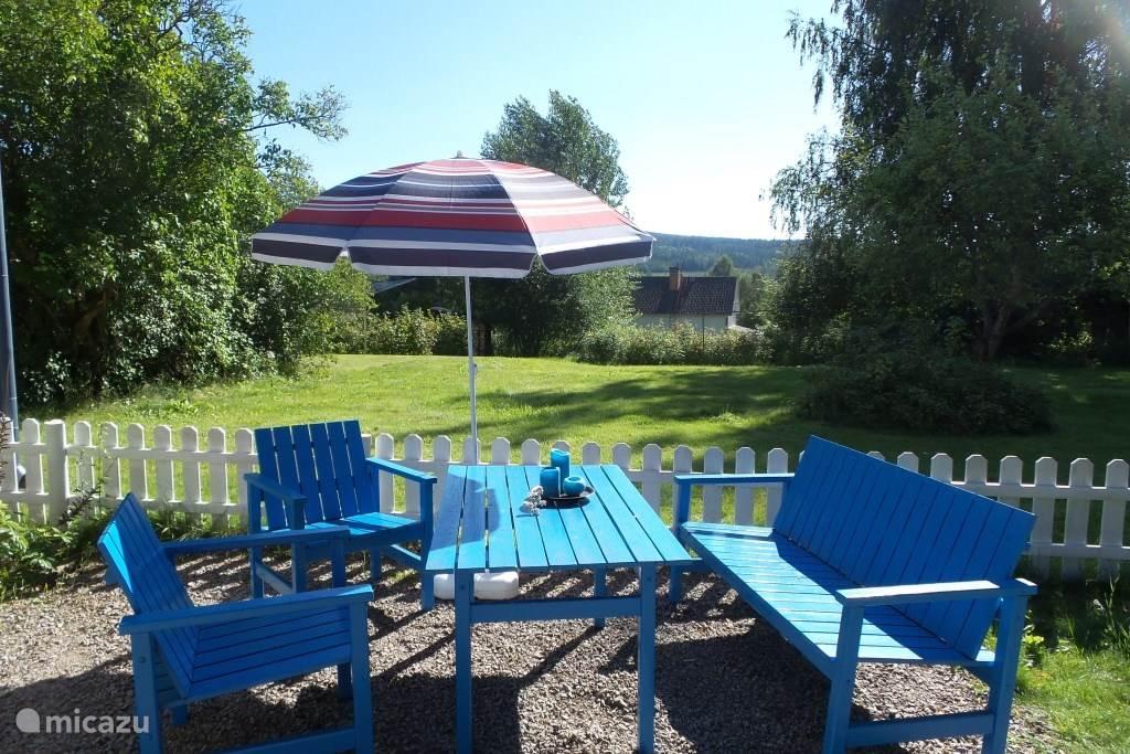 Lekker relaxen in de tuin!