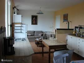open keuken en woonkamer