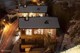 The chalet seen from Hotel Alpin Juwel.