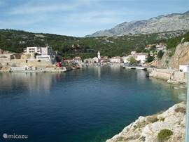 The port of Jablanac on the Adriatic coast