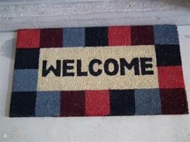 Wij wensen iedereen een warm welkom in ons huis