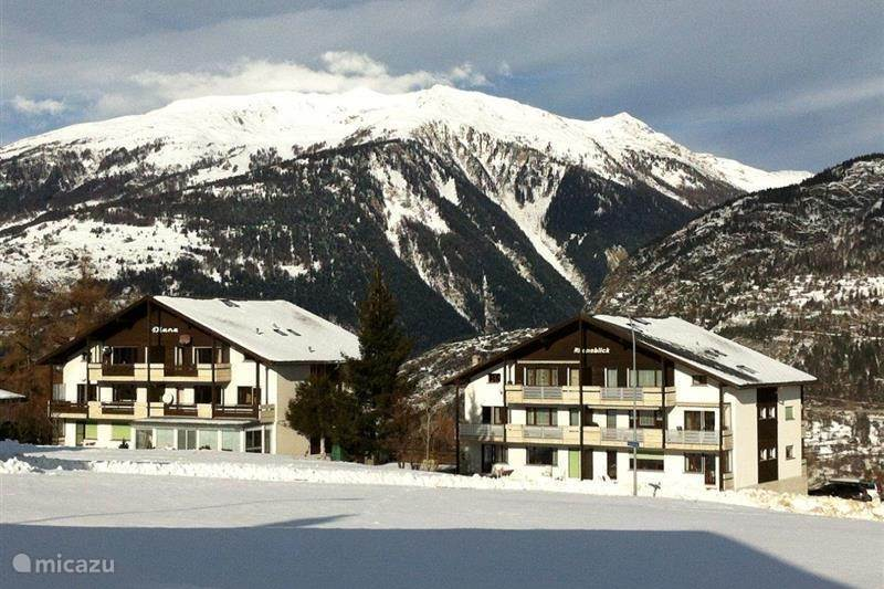 Vakantiehuis Zwitserland, Wallis, Eischoll Appartement Haus Rhoneblick, Eischoll