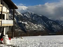 Uitzicht naar het Rhônedal.