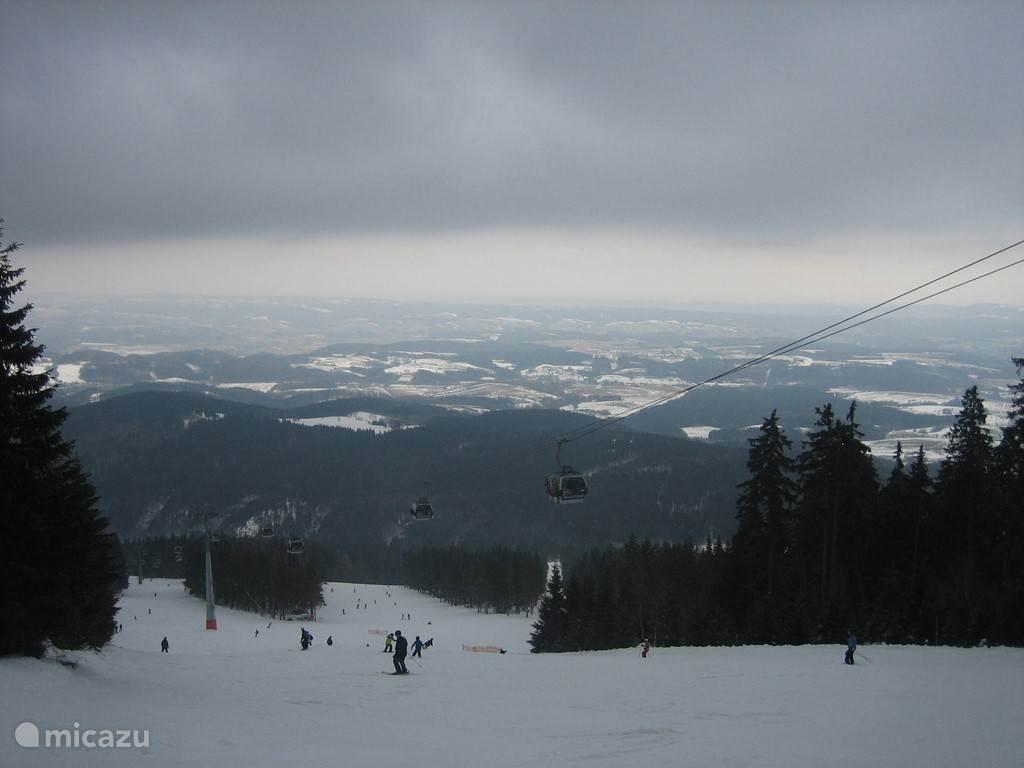 Prachtig uitzicht Janske Lazne