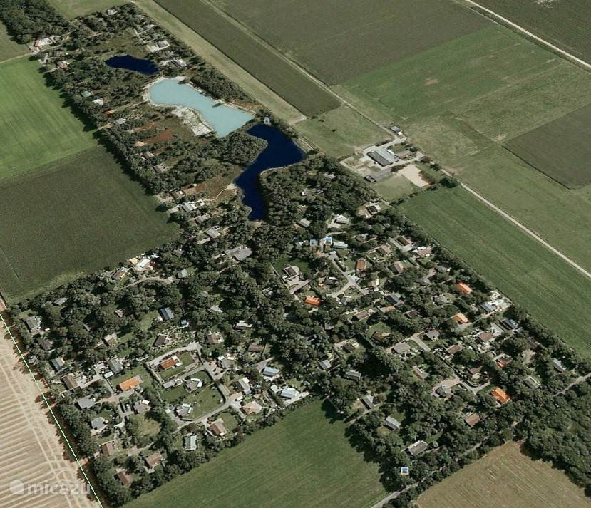 Luchtfoto van het Nuilerveld.
