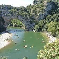 De bekende Pont d'Arc.