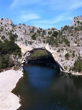 De Pont d'Arc.