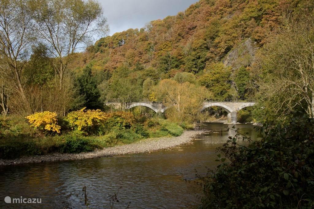 Brücke über die Ourthe