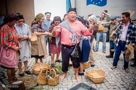 Nog zo'n mooi plaatje van de inwoners van Lavos op een van de dorpsfeesten