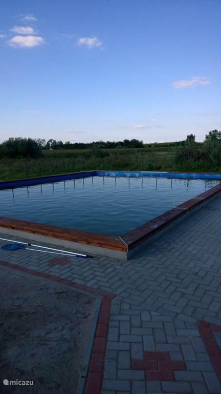 Het zwembad van csillagház