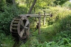 The water wheel in the Ruhr in Niedersfeld.