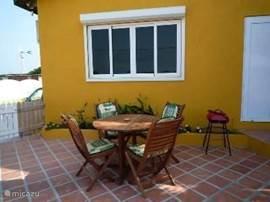 private terrace 2 slp. room apartment