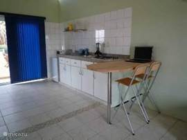 volledig ingerichte keuken 2 slp.kamer appartement