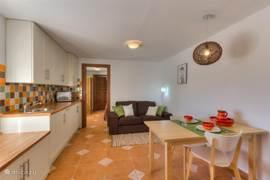 Woonkamer appartement Oliva