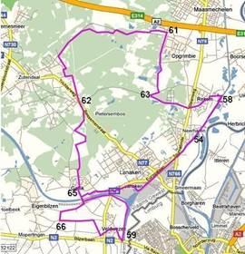 Ruime keuze in fietsroutes in de directe omgeving