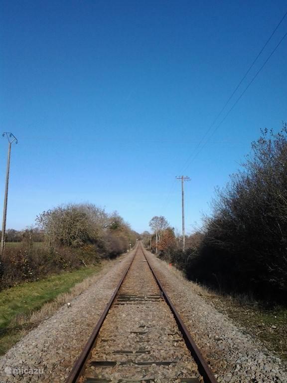 De trein rijdt inmiddels niet meer...