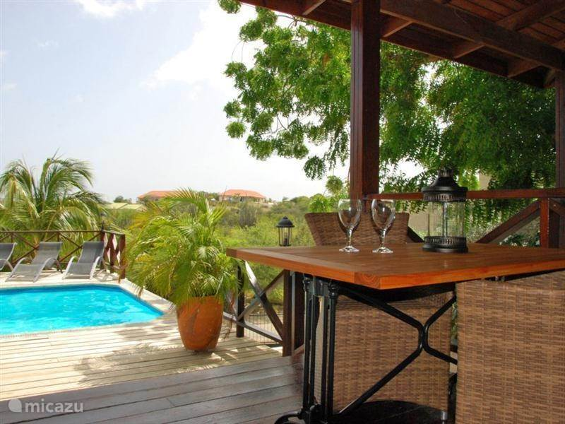 Windsurfen, Curaçao, Banda Ariba (oost), Spaanse Water, appartement Curavilla, appartement 1