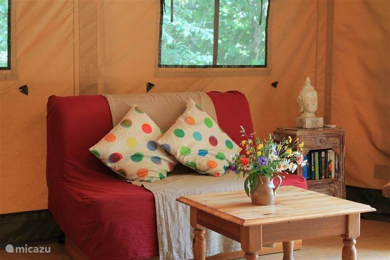 Vakantiehuis Frankrijk, Hérault, Avène Blokhut / Lodge Safaritent in Zuid Frankrijk