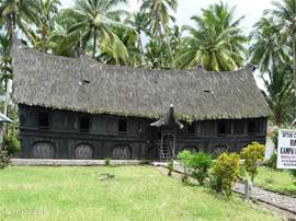 The oldest long-house or adat house can be visited as a museum