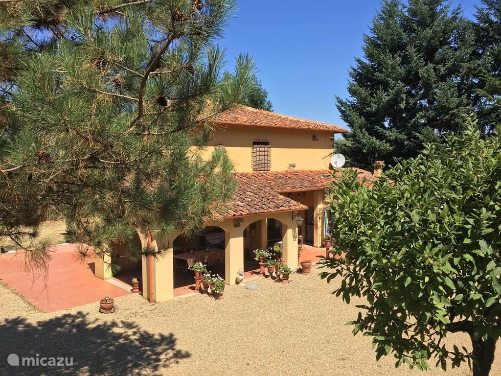 Vakantiehuis Italië, Toscane, Reggello villa Villa Garniella met zwembad Toscane