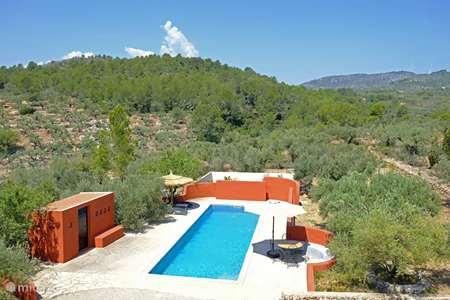 Vakantiehuis Spanje, Costa Dorada, L'Ampolla vakantiehuis Olives i Més
