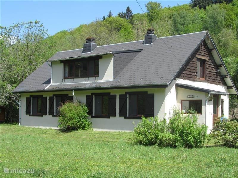 Sportvissen, België, Ardennen, Vresse-sur-Semois, vakantiehuis Juanne B