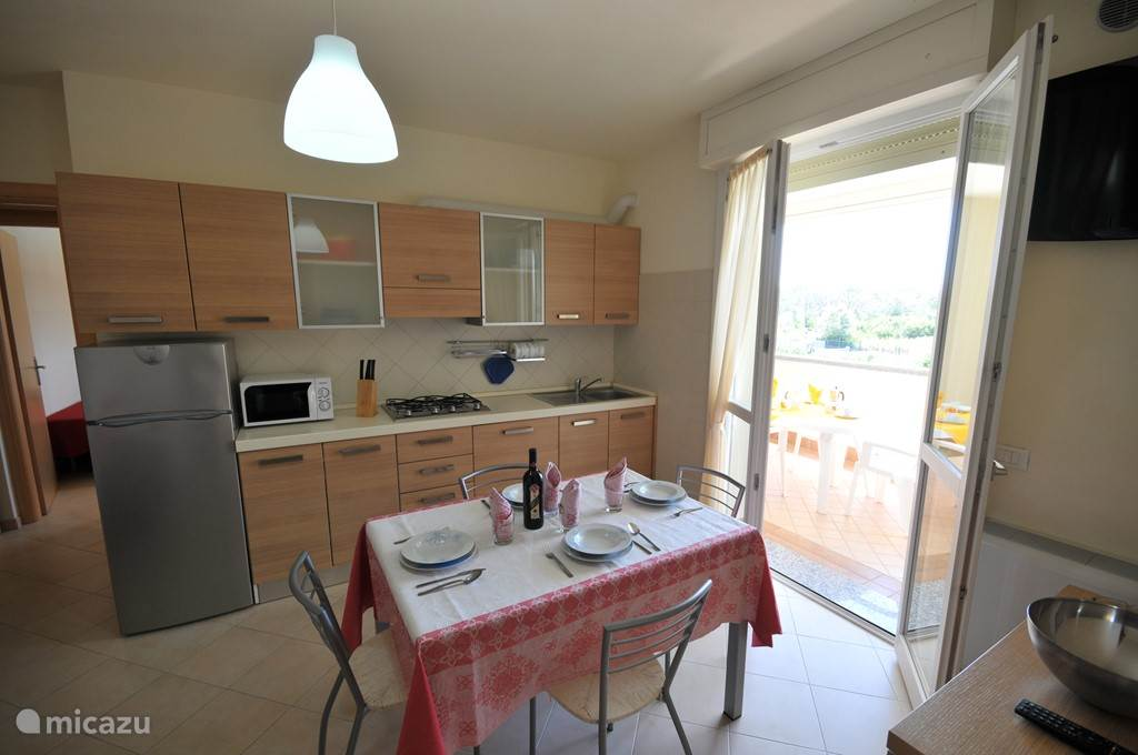 Vacation rental Italy, Emilia-Romagna, Lido degli Estensi apartment Residence Adriatic Coast with wi-fi!