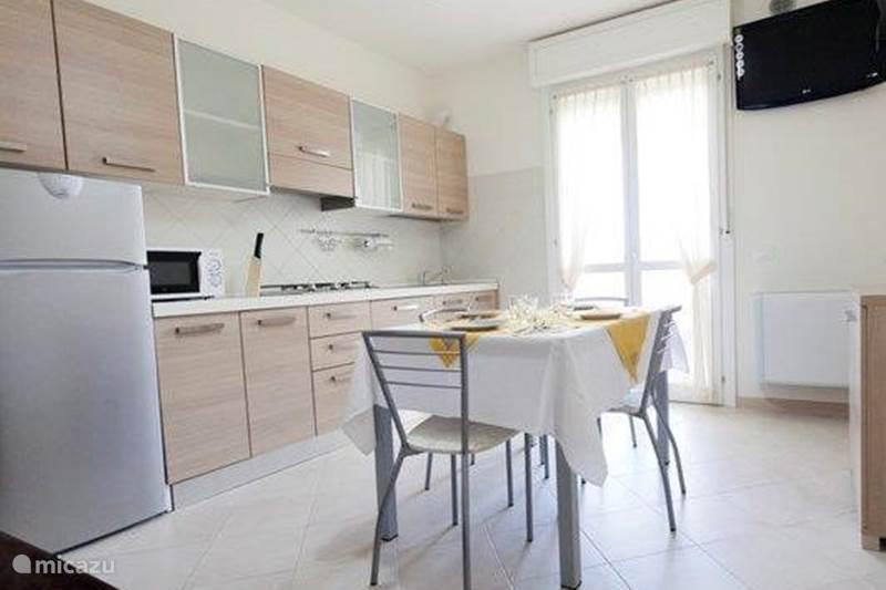 Vakantiehuis Italië, Emilia-Romagna, Lido degli Estensi Appartement Nieuw appartement Adriatische Kust