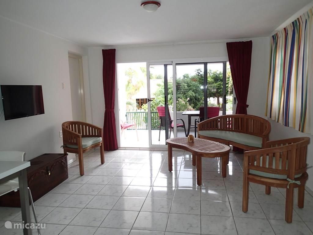 Vacation rental Curaçao, Curacao-Middle, Koraal Partier Apartment Ankateam app A164