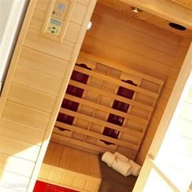 Infrarood sauna, om helemaal te relaxen!