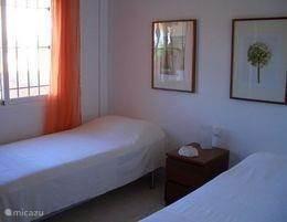 2 slaapkamers benedenverdieping
