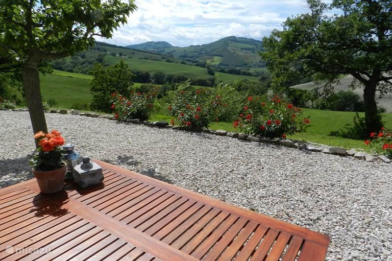 Vakantiehuis Italië, Marche, Arcevia Appartement Rosa nel Pozzo, Appartement Olive