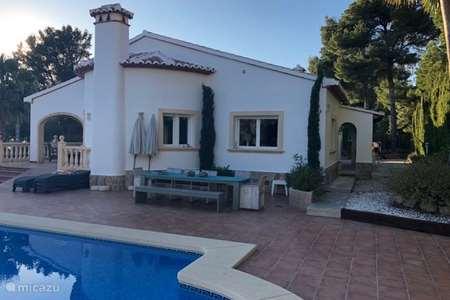 Vakantiehuis Spanje, Costa Blanca, Javea villa Villa met uitzicht en zeer prive