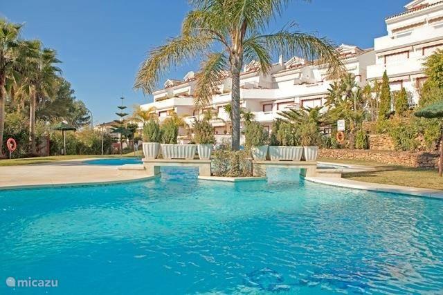 Vakantiehuis Spanje, Costa del Sol, Marbella appartement Strandappartement Elviria, Marbella