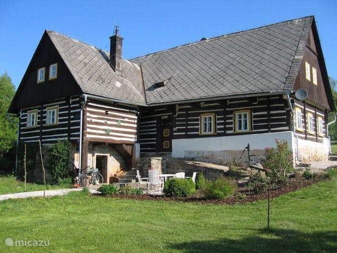 Vakantiehuis Tsjechië, Oost-Bohemen, Horní Brusnice vakantiehuis nonni