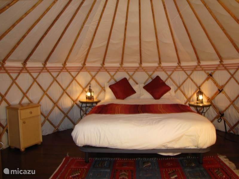 Vakantiehuis Spanje, Andalusië, Algarrobo Glamping / Safaritent / Yurt Yurt Balcón de Andaluz