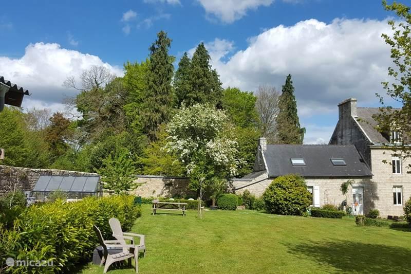 Vakantiehuis Frankrijk, Morbihan, Ploërdut Vakantiehuis Guernevelien gite Le Chariot