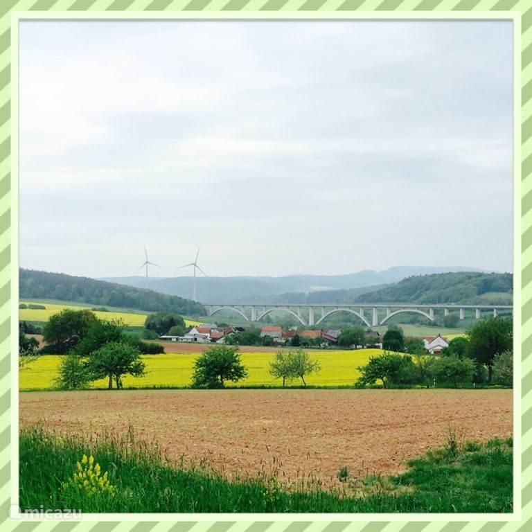 uitzicht over de heuvels...