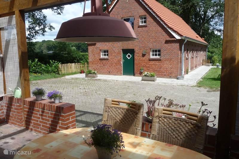Ferienwohnung Deutschland, Niedersachsen, Osterwald Appartement Hof Holthuis - Gartenblick